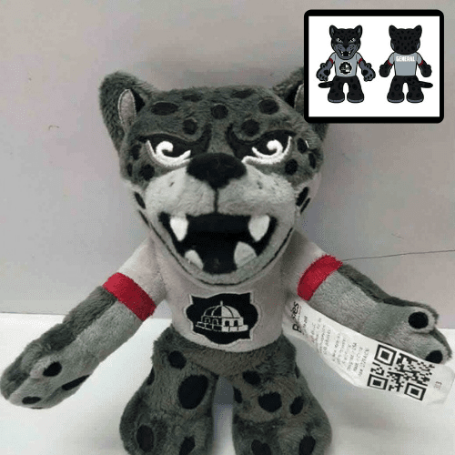 university mascot stuffed animal