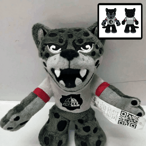 school mascot stuffed animal