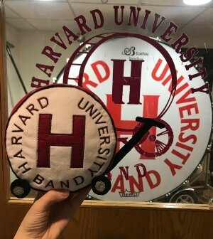 Harvard mascots custom bulk plush