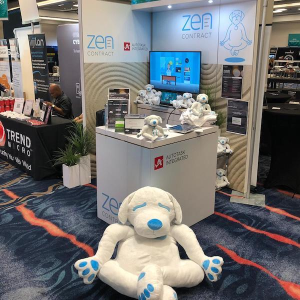 zen dog mascot stuffed animals
