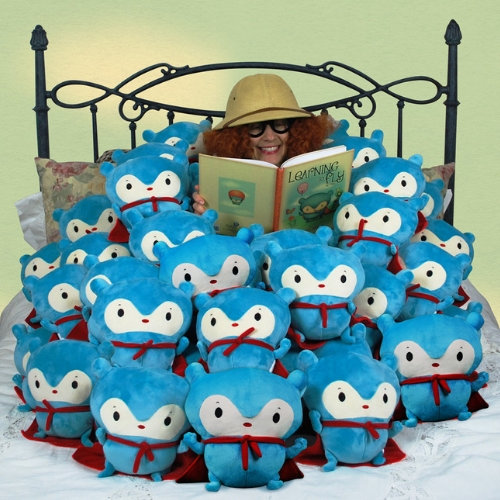 book character plush doll