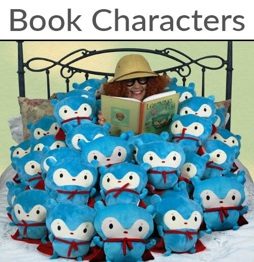 Book characters Custom Bulk Plush