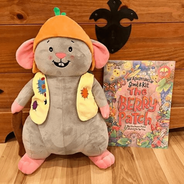 custom stuffed animal book character