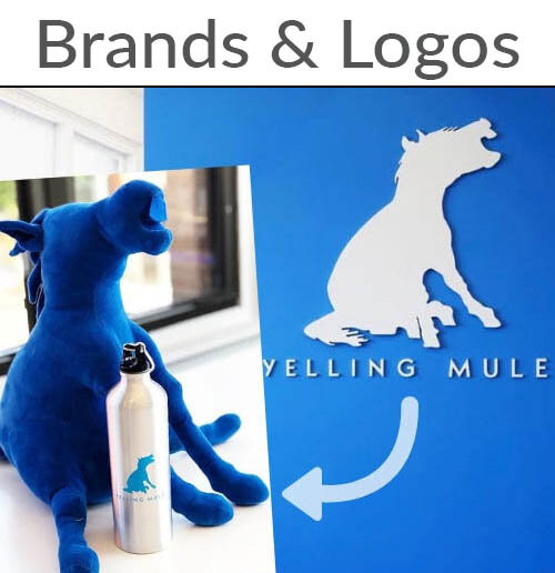 Brands and Logos Custom Bulk Plush