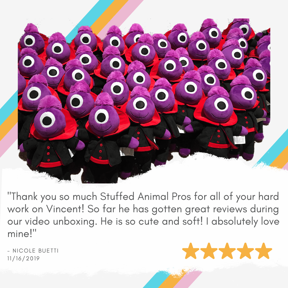 mascot stuffed animal review
