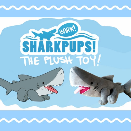 crowdfund shark pup stuffed animal