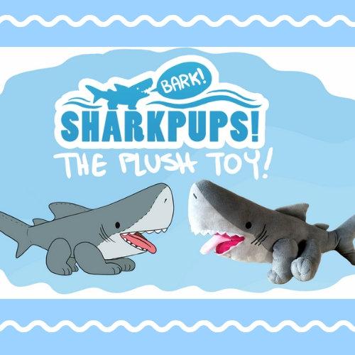 crowdfund shark pup stuffed animal