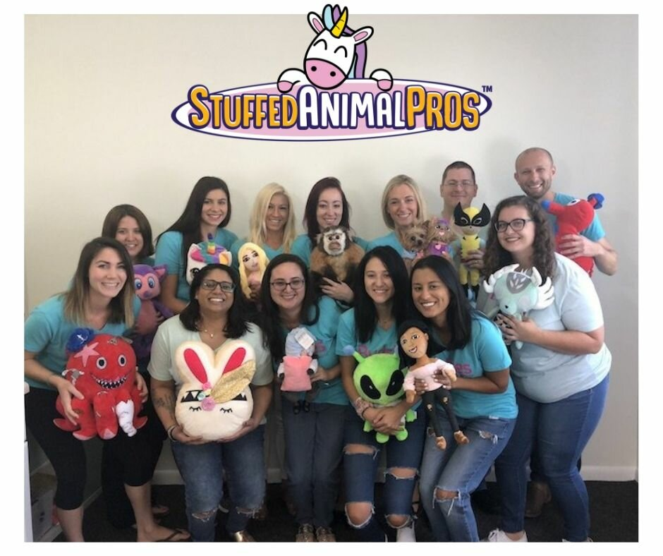 stuffed animal pros team