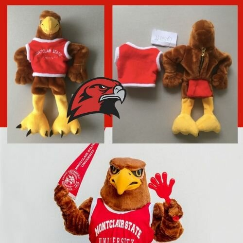 montclair university mascot stuffed animal